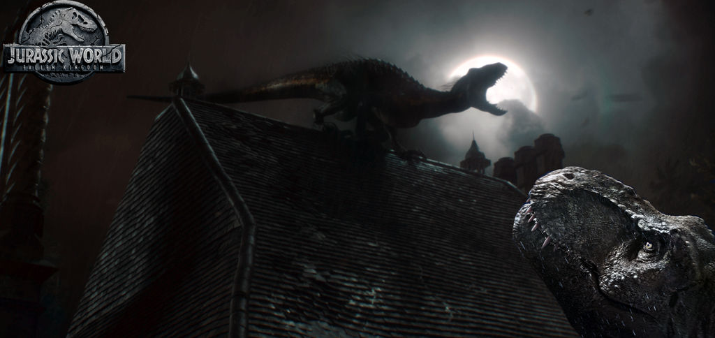 T-Rex vs Indoraptor (JW:FK) by TimBESD