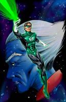 Green Lantern by ChrisTsuda