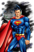 2009 Superman by ChrisTsuda