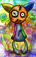 3th psyco-cat by peregrinomk