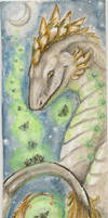 bookmark commission cel by Opaca