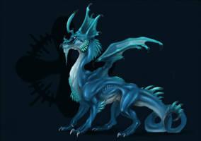 blue bulldragon by Opaca