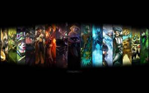 League Of Legends Wallpaper by Sprykils