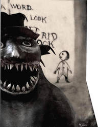 The Babadook by FifiCake