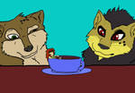 Tenaga Coffee break by girlonwantedposters
