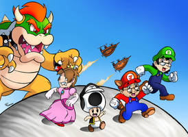 Brainscratchcomms Super Mario Bros. 3 by SonicKnight007