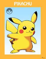 Smash Bros Pikachu by SonicKnight007