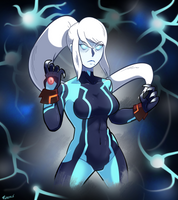 Dark Zero Suit by SonicKnight007