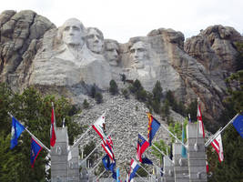 Mt Rushmore SD by Speck2