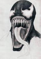 Yawning Venom (*unfinished) by Boredomdoodler