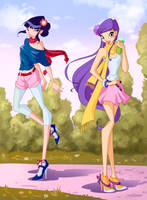 Musa and Tine 5 season Winx by fantazyme