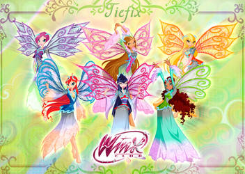 Winx club Tiefix Transformation by fantazyme