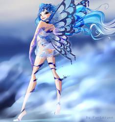 YCH: Titania fading Enchantix by fantazyme
