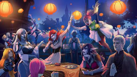 Festival of Light by fantazyme