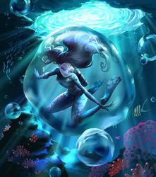 Secret Giver - Underwater by fantazyme