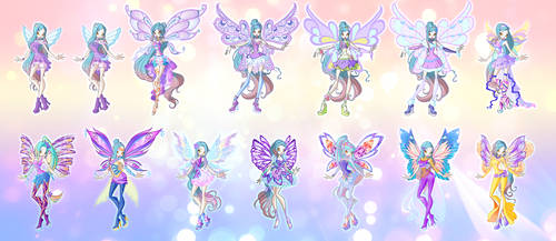 Line Transforamtion Evolution by fantazyme