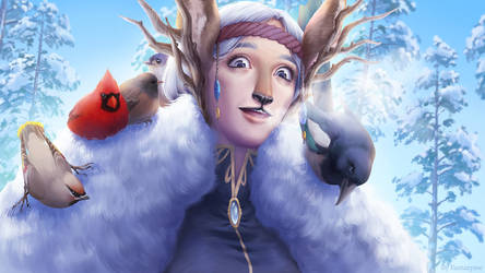 Winter Lady by fantazyme
