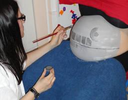 Death Star - Work in progress by HelgaVelroyen