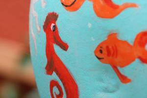 Fish Bowl - Close-up by HelgaVelroyen