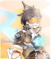 Tracer-art Trade  by Nekane-B-A