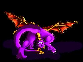 Spyro hello by illegal-spyro-fan