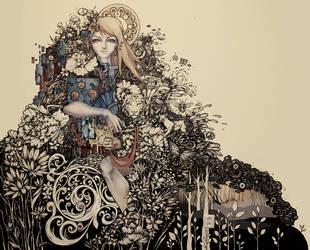 Enchanted forest by Julliane