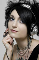 Headphones 3 by BlackRoseArt