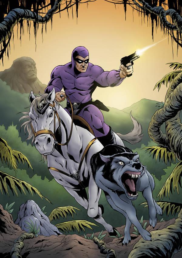 The Phantom by puggdogg