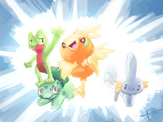 Team Diamond by MusicalCombusken