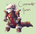 Commander Aaron by MusicalCombusken