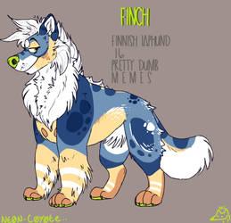 Finch v.2 ( temporary ) by Prickle-Pearr