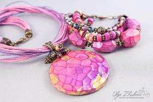 Set of jewelery by polyflowers