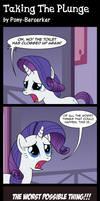 Taking The Plunge by Pony-Berserker