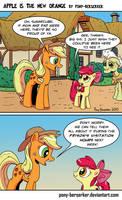 Apple Is The New Orange by Pony-Berserker