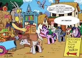 Badwill Sale by Pony-Berserker