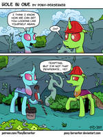 Hole In One by Pony-Berserker