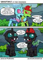 Unsuitable by Pony-Berserker