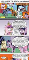 Love Is For the Weak by Pony-Berserker