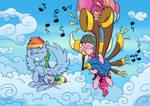 Yovidaphone Pone by Pony-Berserker
