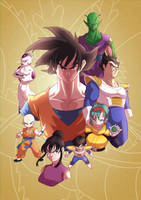 Dragon Ball Z by alanscampos