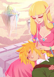 Legend of Zelda by alanscampos