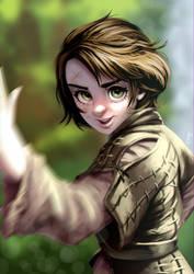 Arya Stark by alanscampos