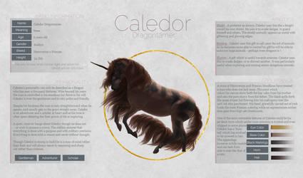 Caledor Dragontamer by zeni-graphics