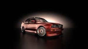 BMW e30 M3 Front by DaveCox