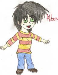 Chibi Albus by ch-ibi-wof-angel