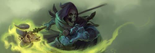 Skeletor by Dlinnov