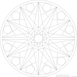 Coloring Page #9 'Catch' by fewilcox