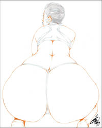 BIG PHAT HUMP DAY BOOTYA PENCIL by Artistik-Bootya