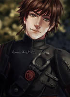 Hiccup - almost grown up by Laovaan