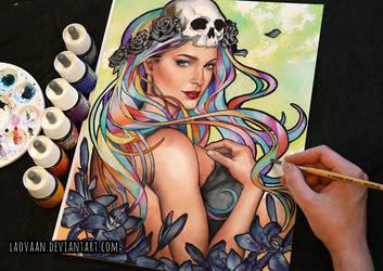 Black Roses by Laovaan